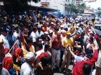 Bienvenida a Chitré 6/4/2003